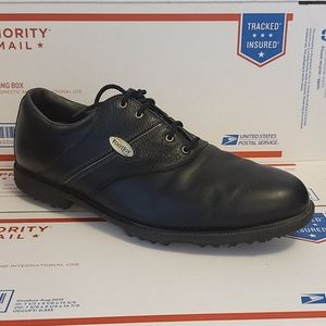 Mens footjoy golf shoes black 11.5 light use
